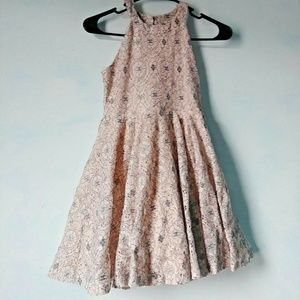 5/$15 Knit Works12 Pink Floral youth lace Dress